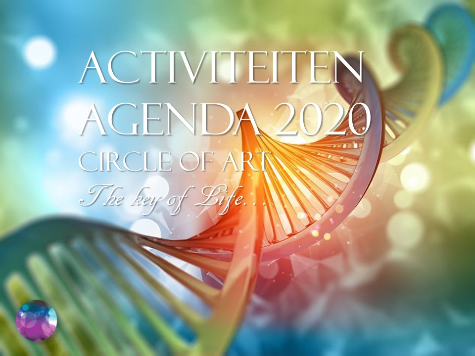Circle of Art, activiteitenagenda 2020
